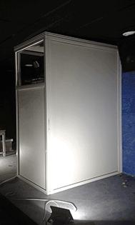 Floor cinema box