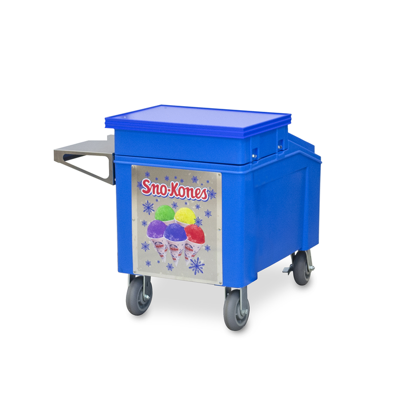 Insulated Ice Chest, Sno-Kone Caddy