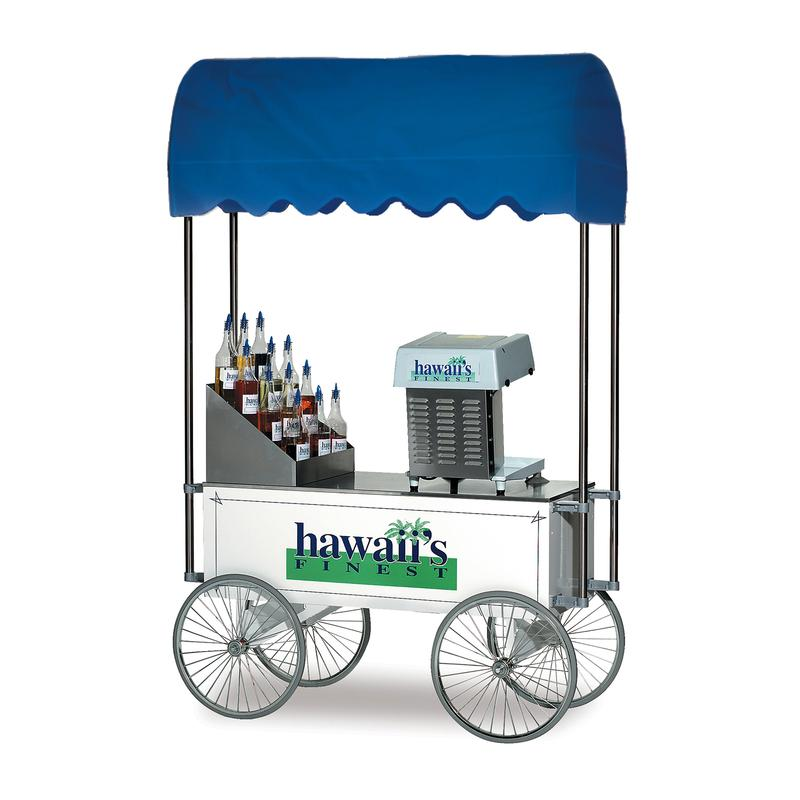 Mobile Shave Ice Wagon