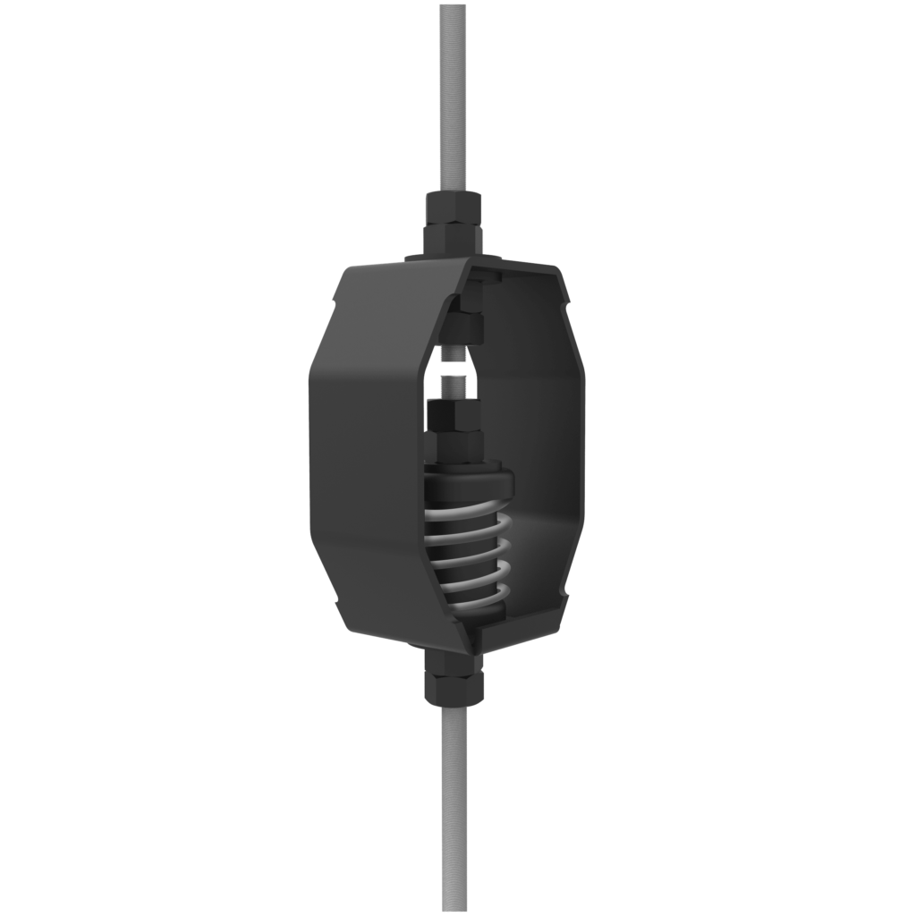 CG-SH-1-245-H   Channel Strut Sound Isolation Bracket