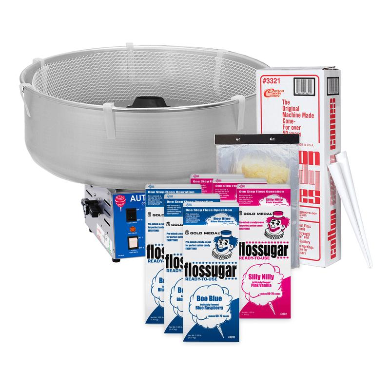 Cotton Candy Equipment & Supplies Starter Package