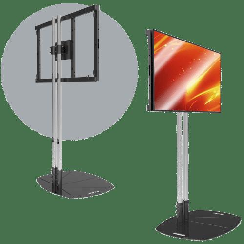 Single Landscape LCD Mount
