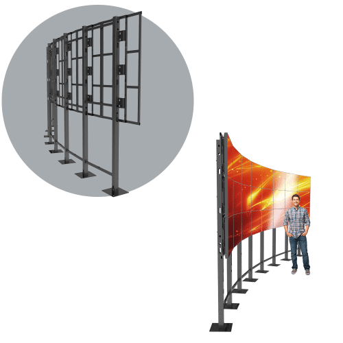 8X3 Landscape LCD Mount – HoverGrid