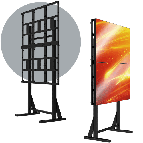 3X2 Portrait LCD Mount