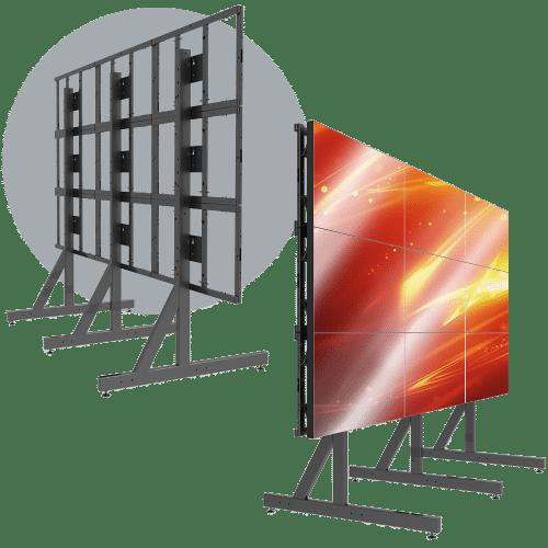3X3 Landscape LCD Mount