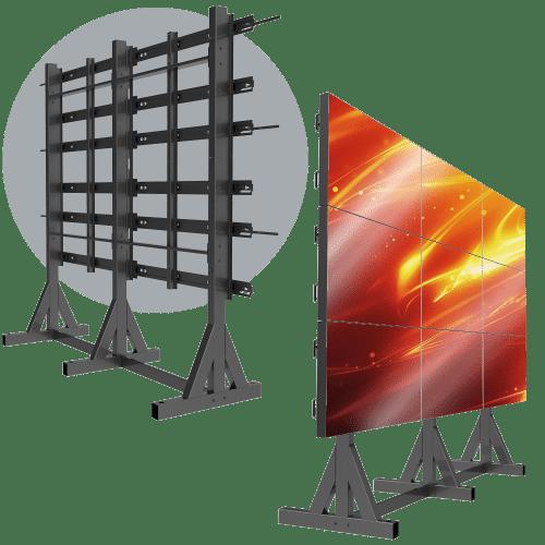 3X3 Landscape LCD Mount – HoverTrack™