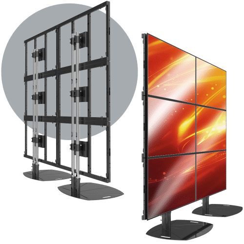 3X2 Lanscape LCD Mount