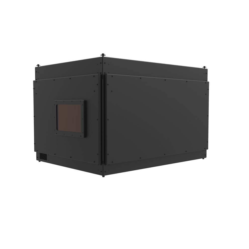 Internally Ventilated, Sound Isolated Projector Enclosure P-BOX-15