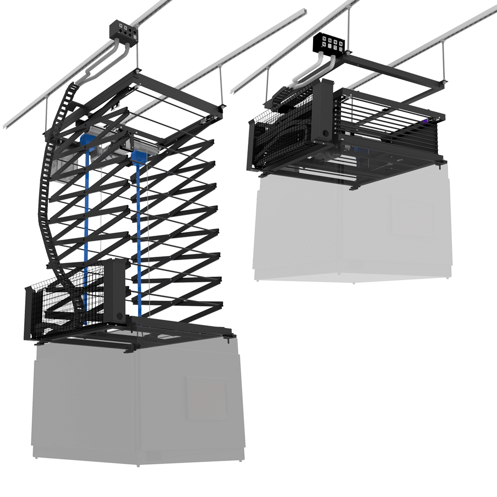 Ceiling Mounted Scissor Projector Lifts PL-2500-SL