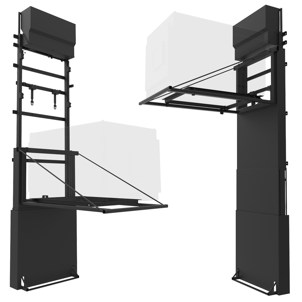 Wall Mounted Projector Lift PL-3800-WL