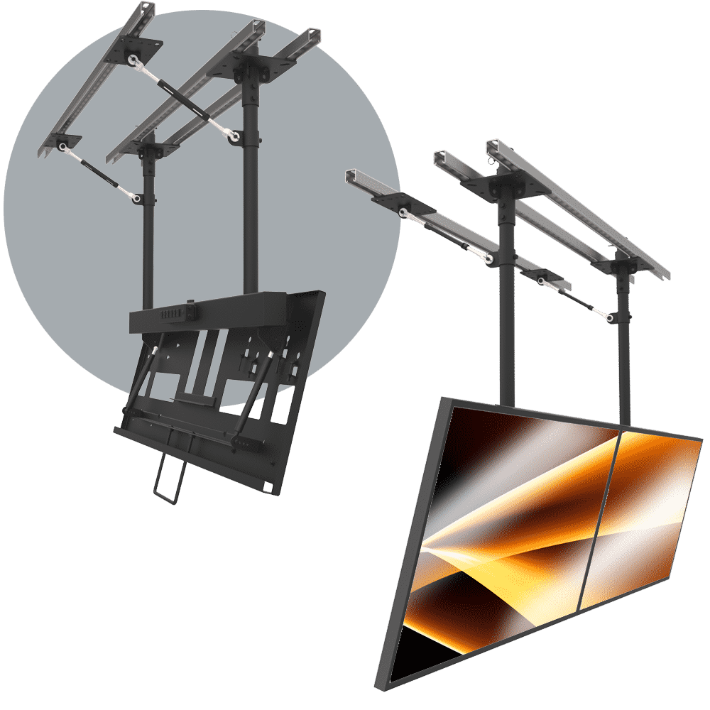 Single Mount Ceiling Mounts (Standard & Custom Ceiling Mounts)