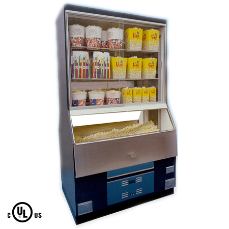 Popcorn Warmer Merchandiser