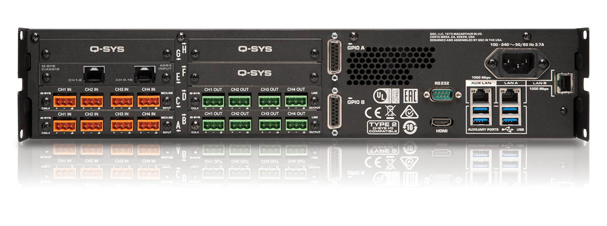 QSC Q-SYS Cinema Core 510c