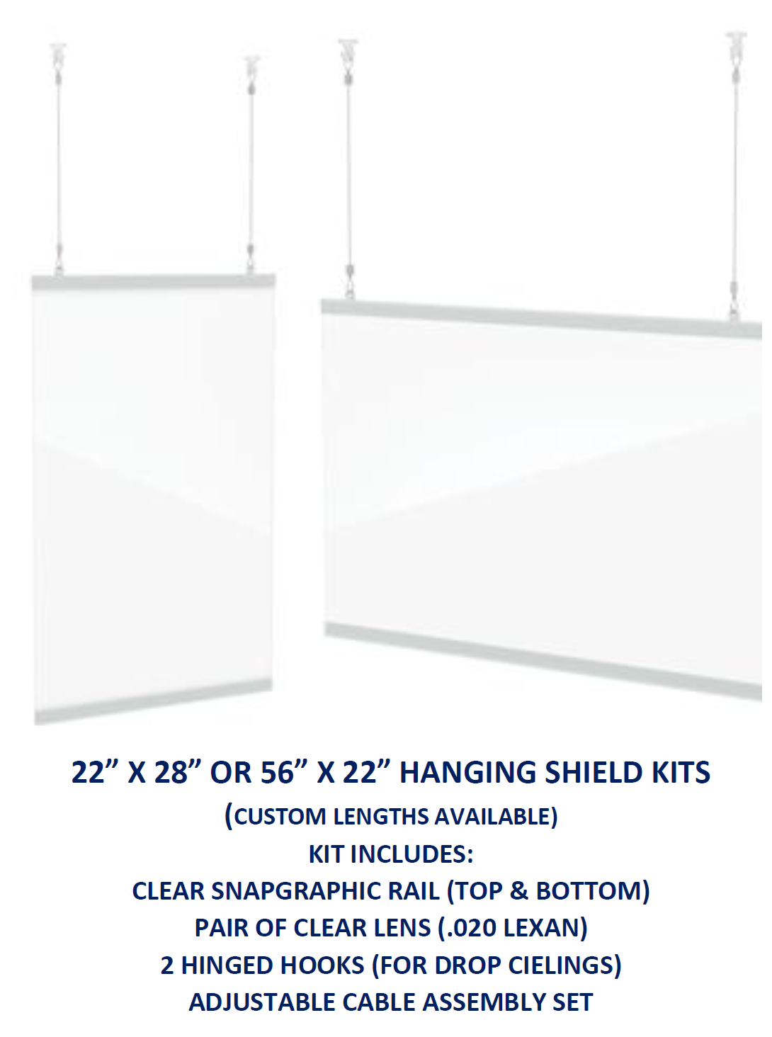 Hanging Safety Shields