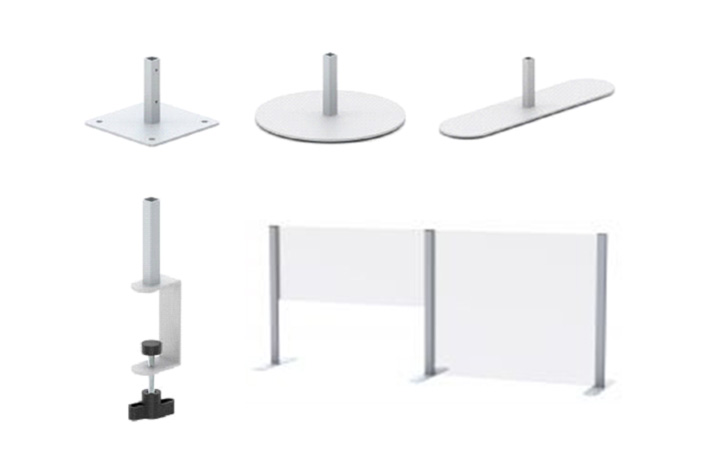 COUNTERTOP SAFETY SHIELDS