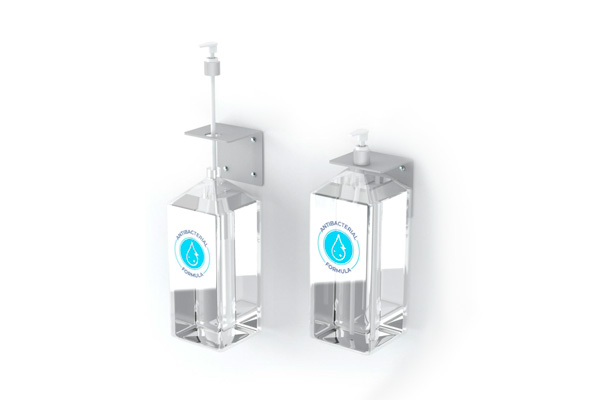HAND SANITIZER PUMP DISPENSER WALL MOUNT BRACKET