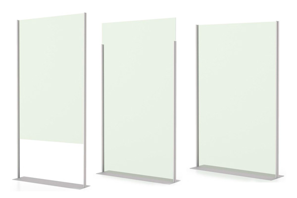 FREESTANDING SAFETY SHIELD PARTITIONS